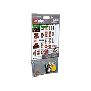 LEGO® Xtra Brick Stickers - ADD Realistic Sticker Detailing to Your Creations! LEGO Xtra LEGO