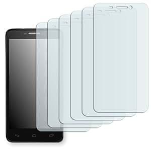 "6 x Golebo Displayschutzfolie für Alcatel One Touch Idol 6030D Displayschutz Schutzfolie Folie ""Crystal Clear"" - Unsichtbar MADE IN GERMANY"