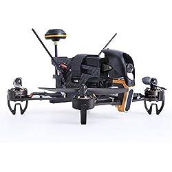 Ballylelly Drone RC con CameraWalkera F210 Drone RC Quadcopter de Carreras UAV con 700TVL 120 ° Gran Angular Receptor de cámara Ajustable Devo 7 Transmisor OSD RTF