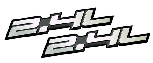 2-x-pair-set-24l-liter-embossed-silver-on-black-highly-polished-silver-real-aluminum-auto-emblem-bad