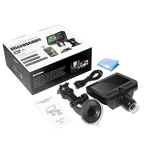 Politice Microscopio Digital LCD Microscopio USB 1080P