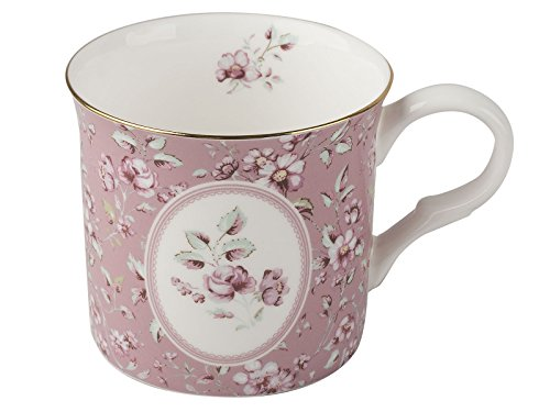Katie Alice creatie Tops Ditsy Floral Shabby Chic Tasse Fine Bone China Palace, keramik, rose, 8 x 12.2 x 8.8000000000000007 cm (8 China)