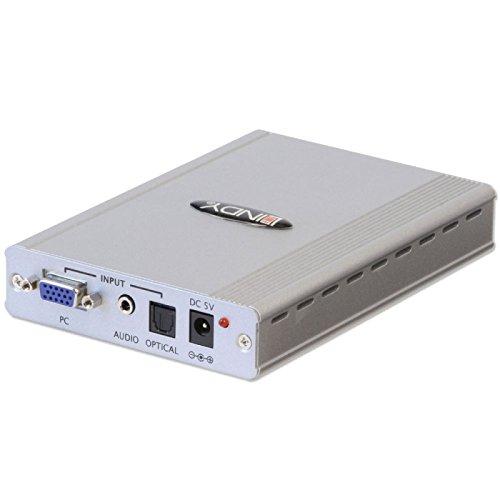LINDY VGA/Audio auf HDMI 1080p Upscaler Wandelt auf HDMI kann bis 1080p hochrechnen - Hi Def Audio