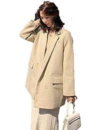 Menran Giacca Invernale da Donna Slim Cardigan Casual Giacca Esterna Spessa  e Antivento Moda Cappotto in 4fe9566f5828