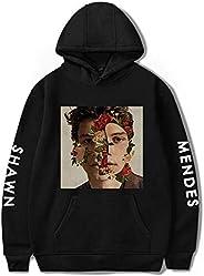 Shawn Mendes fashion sweatshirt round collar oversize hoodie printing casual top