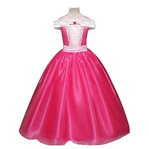 QINJLI Zhongda Mädchen Rock Halloween Cosplay Dornröschen Ai Luo Prinzessin Kleid Maxikleid