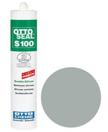 OttoSeal S100, das Premium- Sanitär- Silicon, 300ml Farbe: C14 ALU Aluminium-silikon
