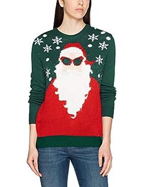 NIZZIN Santa, Suéter de Navidad