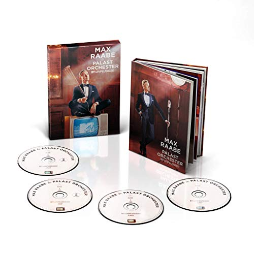 Max Raabe - MTV Unplugged (2CD + DVD + Blu-ray Deluxe Version)