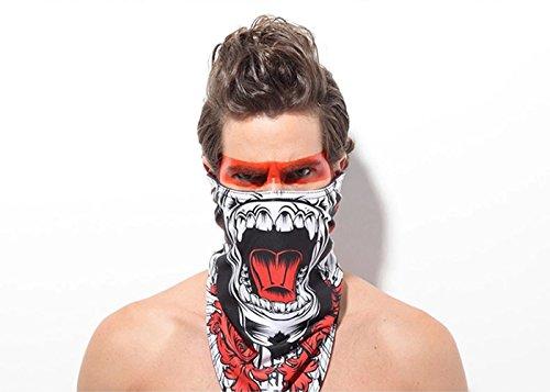 GANZTON Skimaske Sturmhaube Motorradmaske Winddicht Warm Triangular Maske Gesichtsschutz Maske Für Skifahren Skating Snowboarden Bergsteigen Camping Radfahren Motorrad Reiten (Hut Leicht Im Katze Kostüm)