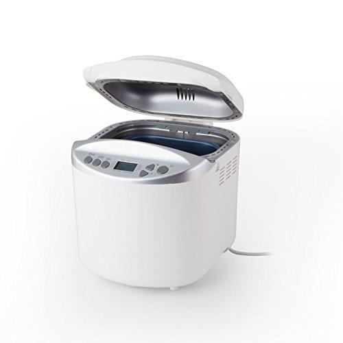 Orbegozo MHP 3000 - Panificadora automática con funcionamiento programable (pantalla LCD, 650 W de potencia, 13 programas de funcionamiento y 4 opciones de tostado) color blanco