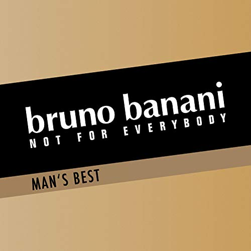bruno banani Man's Best – Eau de Toilette Herren Parfüm Natural Spray – Eleganter, maskuliner Premiumduft für Männer – 1er Pack (1 x 30ml)