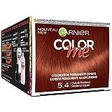 Garnier Color Me Coloration Cheveux Permanente Cuivré Radieux 5.4 - Lot de 3
