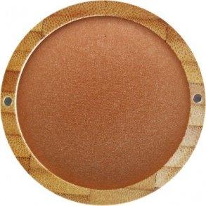 ZAO Mineral Cooked Powder 343 gold-bronze Bronzer Bräunungspuder schimmernd, in nachfüllbarer Bambus-Dose (bio, Ecocert, Cosmebio, Naturkosmetik) - Nachfüllbarer Highlighter