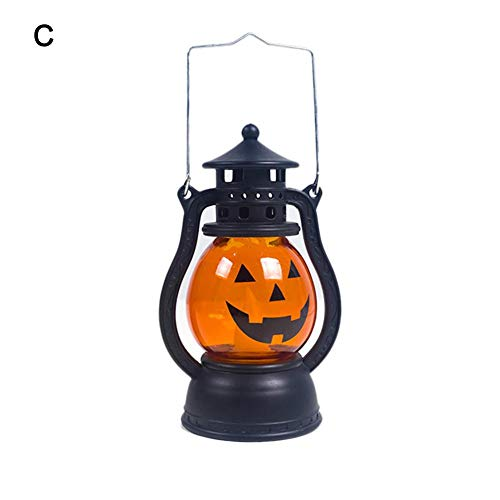 Kürbis Laterne Dekoration Für Halloween, Kreative Halloween Kürbis Kürbis Lichterketten Für Indoor Outdoor Home Yard Party Nette LED Nachtlicht Lampe Für Kindergarten Kinder