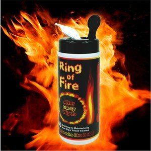 Ring of Fire - After Curry Wipes