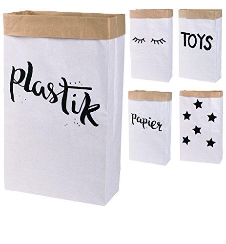 Saco papel Paper Bag rectangular papel kraft marrón
