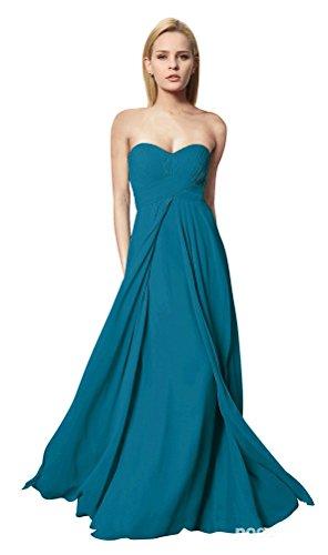 ShiYuan - Robe - Trapèze - Femme Vert - Bleu-vert