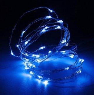Masunn 4m 40LED Silver Wire Fairy String Light