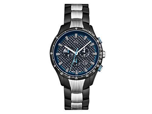Mercedes-Benz Chronograph Men's Motorsport Chrono, Black Blue/Black/Silver, Stainless Steel/Carbon