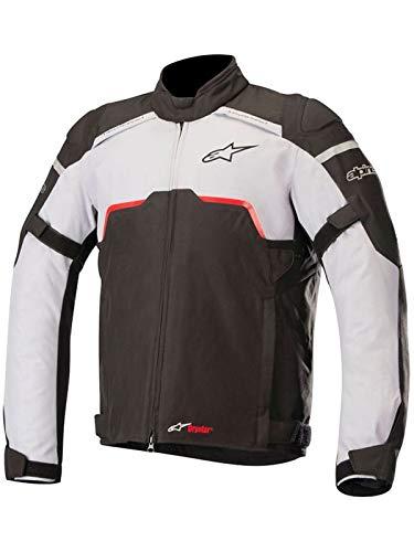 Alpinestars Motorradjacken Hyper Drystar Jacket Black Mid Gray, Schwarz/Grau, L -