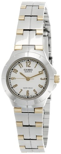 Casio Enticer Analog White Dial Women's Watch - LTP-1242SG-7ADF (A375)  available at amazon for Rs.2245