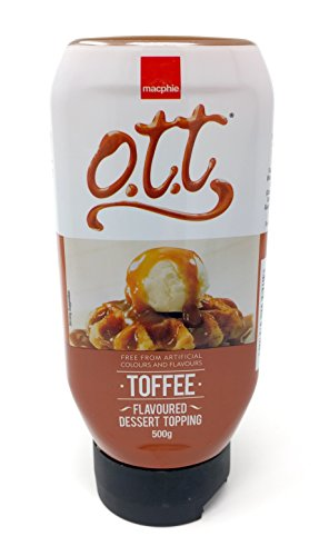 Macphie - OTT Toffee Dessert-Topping-Sauce 500g