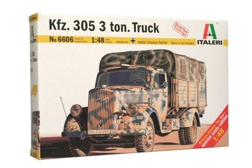 Italeri 6606 - kfz.305 3 tons medium truck model kit  scala 1:48