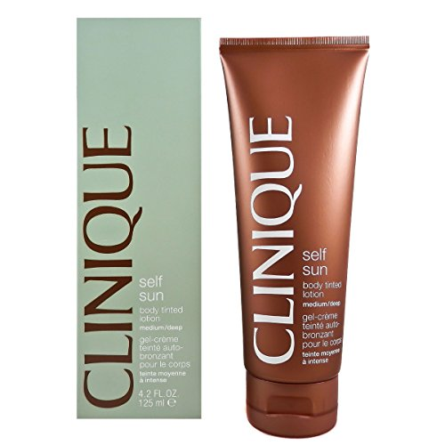 Clinique Body Cream Self Sun tinted Lotion Medium 125 ml - Best Self Tanning Lotionen