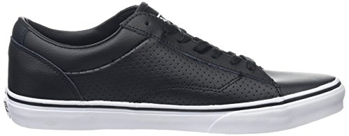 Vans Dawson, Baskets Basses Homme Noir (Leather black/white)