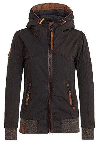 Naketano Female Jacket Pallaverolle Black, XL