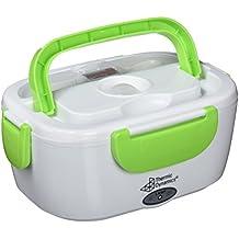 Thermic Dynamics Lunchbox - Portavivande elettrico per auto, colore bianco/verde,  1 pz.