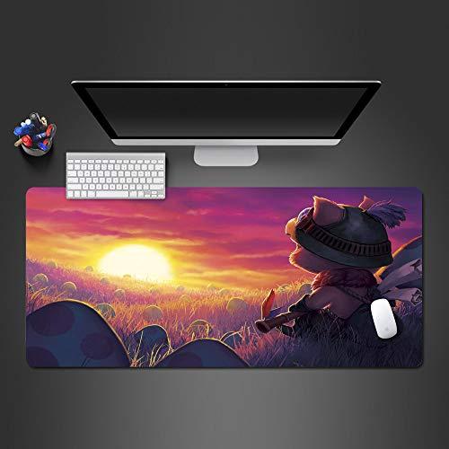 Sonnenunterganglandschaftsentwurfs-Mausunterlagenspielspielerqualitätsspielmausunterlagenart und weisespielcomputermausunterlage 900x300x2 -