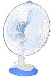 Nexstar 75 Watt Table Fan (Blue and White)