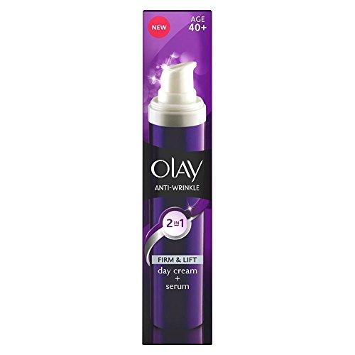 Olay Anti Rides Crème 2 En 1 Jour Et Le Sérum (50 Ml)