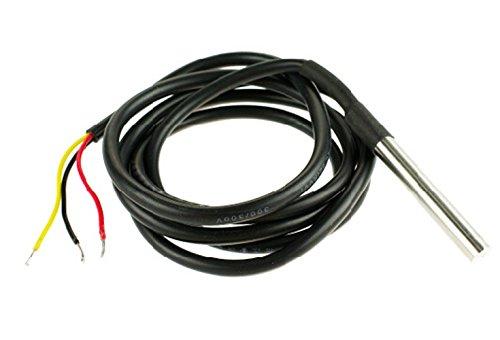Imperméable DS18B20Capteur de température numérique/Pratique pour mesure lorsque vous besoin de quelque chose Far Away, ou en conditions humides