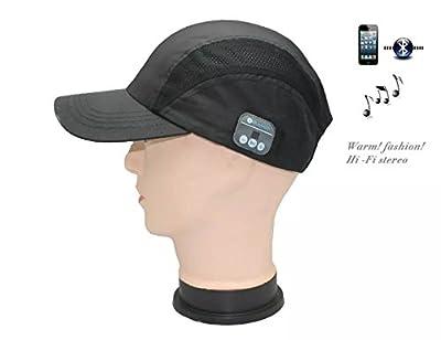 ArcEnCiel(TM)Drahtlose Bluetooth Kappe Bluetooth Schildmuetze mit Freisprecheinrichtung und MP3-Player - Kappe mit Bluetooth Handy Kopfhoerern, Stereo-Lautsprechern und Mikrofon Headset von ArcEnCiel - Outdoor Shop