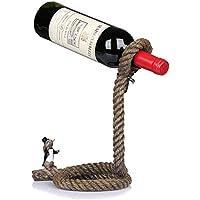 Betty Soporte de Lazo mágico para Cuerda de Botella de Vino - Ilusión Flotante Soporte de
