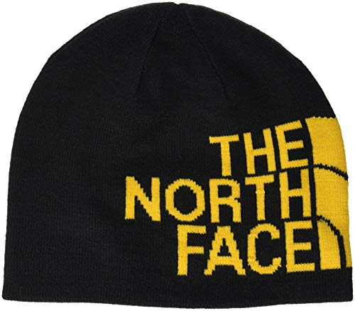 Winter Banner (THE NORTH FACE Reversible Banner Mütze, Black/TNF Yellow, One Size)