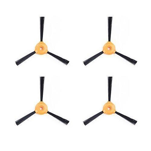 Hepa-filter Roboterzubehör Seitenbürste 5 10 Schwamm Filter Für Conga Exzellenz 990 Roboterstaubsauger Teile GläNzend 5