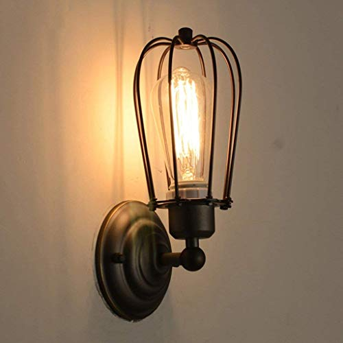 YWJWJ Einfach, die Schlafzimmer Retro-Modern Village Terrace Personalisierte Lampen Wall Lemon & Industrial Tubes