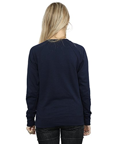 Avengers Femme Infinity War Power Fist Sweat-Shirt Bleu Marin