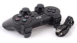 Kabi Wireless Bluetooth Game Romote Controller with Double Shock for ps3 PlayStation 3 Controller from Kabi