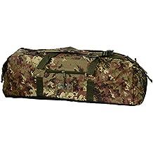 Borsone Militare Zainibile XL 100 Litri Vegetato Mimetico con Tracolla