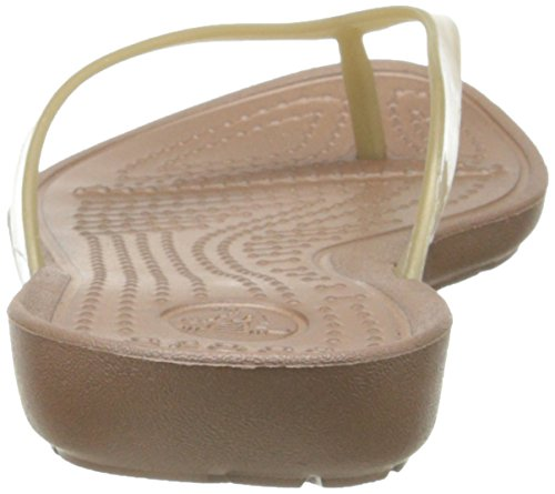 Crocs Really Sexy, Tongs femme Or (Bronze/Bronze)