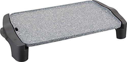 Jata Plancha de asar GR558 -  2,500 W de potencia, Medidas: 46 x 28 cm, Muy resistente al rayado y antiadherente, Libre de PFOA, Fabricada en España, Fácil limpieza