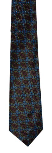 mens-silk-feel-tie-funky-retro-vintage-cool-style-great-wow-blue-monday
