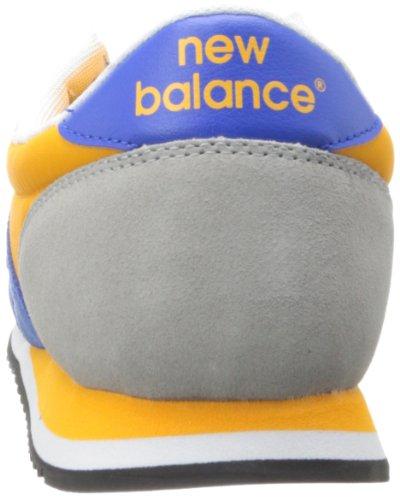 New Balance U420 D 14E, Baskets mode mixte adulte Mehrfarbig (BYG BLUE/YELLOW 5)