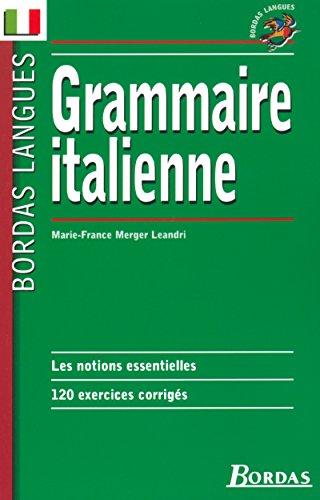 Grammaire italienne (Bordas Langues)