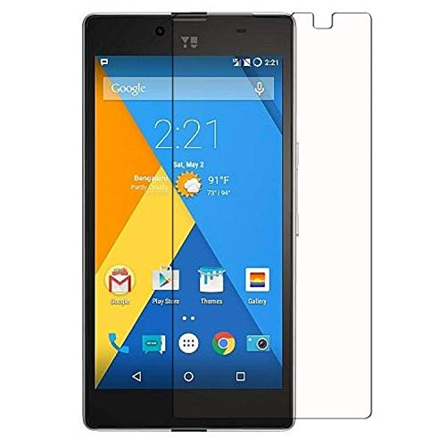 DMG Micromax Yuphoria Tempered Glass, iKare 2.5D 9H Tempered Screen Protector for Micromax Yuphoria